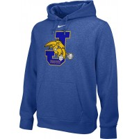 Jefferson Youth Football 18: Adult-Size - Nike Team Club Men's Fleece Training Hoodie - Royal
