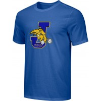 Jefferson Youth Football 16: Adult-Size - Nike Combed Cotton Core Crew T-Shirt - Royal