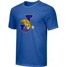 Jefferson Youth Football 17: Youth-Size - Nike Combed Cotton Core Crew T-Shirt - Royal
