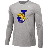 Jefferson Youth Football 13: Adult-Size - Nike Team Legend Long-Sleeve Crew T-Shirt - Gray