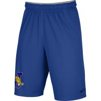 Jefferson Youth Football 23: Adult-Size - Nike Team Fly Athletic Shorts - Royal