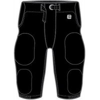 Jefferson Youth Football 25: Adult-Size - D1 Sports Adult Integrated Football Pants - Practice